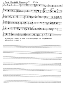 Louvado seja a Deus Violino