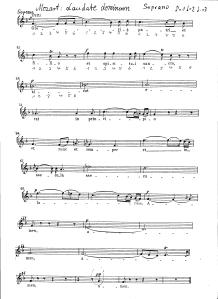 Mozart Laudate Dominum Soprano